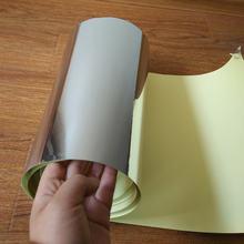 35 листов самоклеящиеся наклейки a4 (21 см x 29 см) яркая серебристая