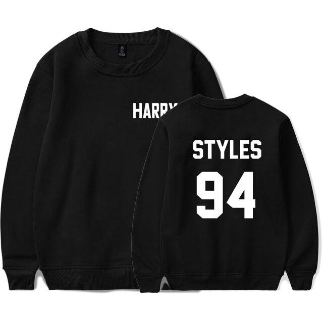 7d2d4ffb7a85 LUCKYFRIDAYF One Direction Harry Styles Felpe Harajuku Casual Con Cappuccio  Da Uomo Felpa Streetwear Autunno Hoodies