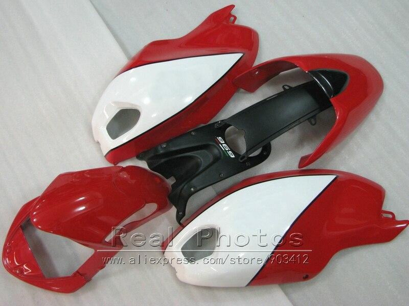 Injection mold 100% fit for Ducati monster 969 dark red white black bodywork fairings set monster 969 HR65