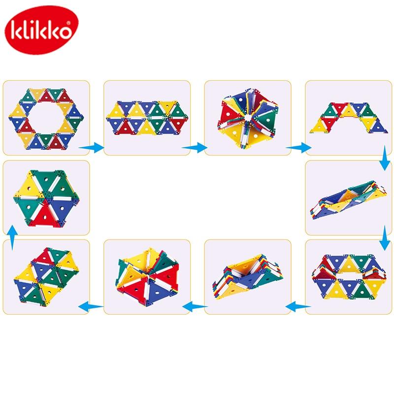 Klikko Intelligence stitching Blocks Divergent thinking Juguetes para - Juguetes de construcción - foto 1