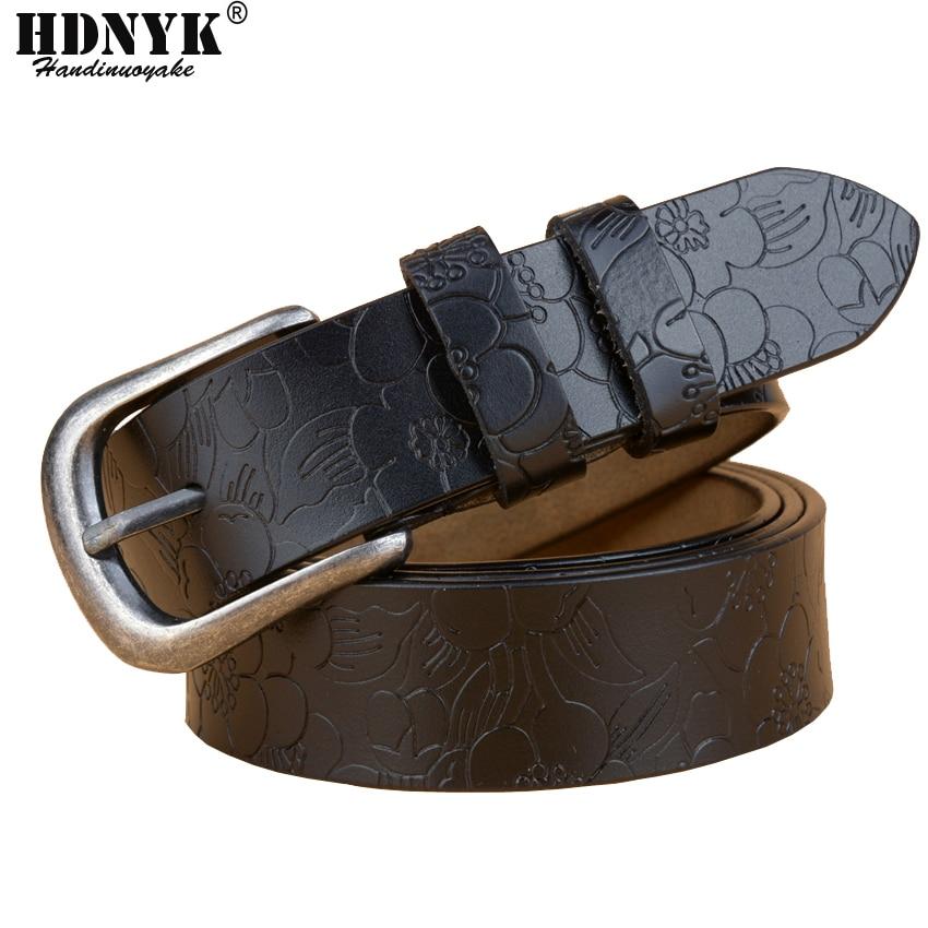 Free Shipping Hot Brand Designer Women Belts Genuine Leather Vintga Belt Cowskin Pin Buckle Trouser Strap Pants Band Ceinture
