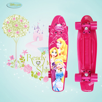 Peny Plastic Skateboard Graphic Series 22 Retro Mini Skate Fish Long Board Cruiser Longboard Complete Princess