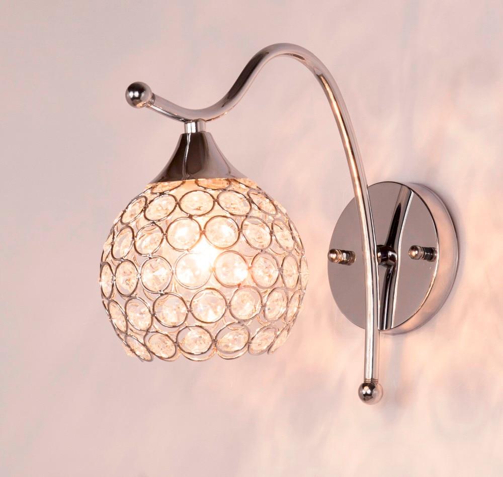 Здесь продается  Ganeed One-Light Wall Sconces Light Led Lamp with Crystal Shades for Living Room Bedrooms Corridor Home Lighting Decoration  Свет и освещение