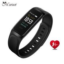 M.uruoi Good Bracelet Colourful Contact Display For Xiaomi Coronary heart Fee Monitor Blood Strain Good Wristband Sleep Monitor Sports activities