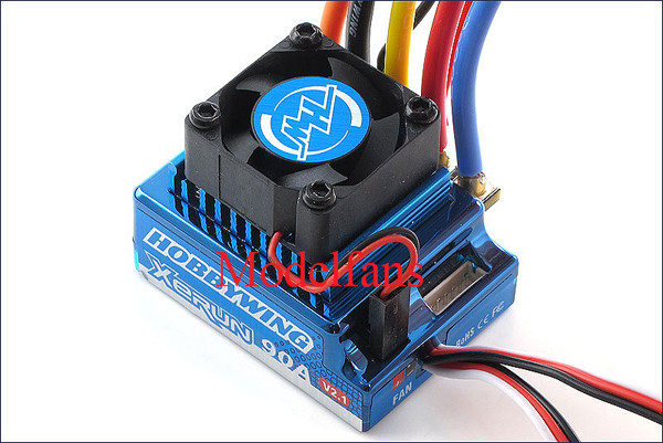 Hobby Wing XERUN 120A SCT PRO ESC RC Brushless Motor Speed Controller 81020260 for 1/10 1/8 SCT 1/8 Buggy Blue цена