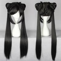 100 Brand New High Quality Fashion Picture Wigs Black Butler Kuroshitsuji CIEL Long Phantomhive Ponytail Cosplay