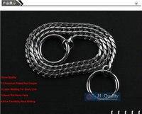 Mostra quality cromato rosso rame 6x750mm dia forte dog-collare, catena del serpente, p catena di nizza flessibilità e scorrevole