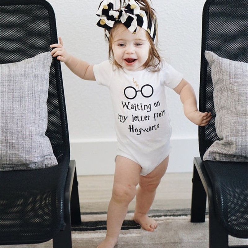 2e8dfb91b Baby Rompers Short Sleeve Baby Girls Clothing Jumpsuits Children ...