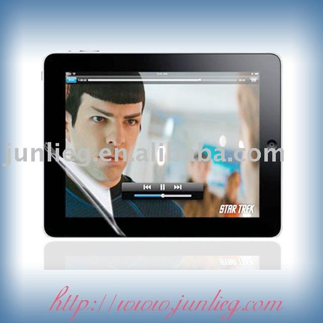 Free shipping + OPP packing Taiwan material high transparent /ultra-clear/normal screen protective film  for ipad