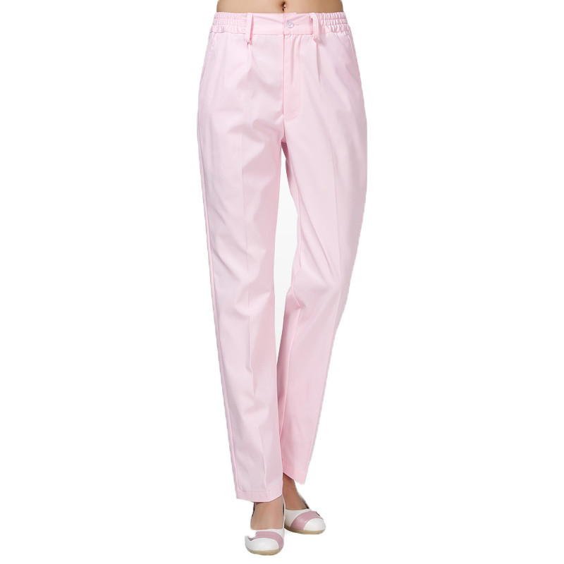 04fda713b3a Medical uniformes hospital Nurse Pants belt Doctors Work Pants Medical  Pants Trousers Female 100% Cotton Wearable and Pilling-in Scrub Tops &  Bottoms from ...