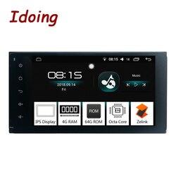 Idoing 7 2 Din Android 8.0 Autoradio GPS Lettore Multimediale Per Toyota Universale IPS Dello Schermo 4G di Ram 64G Rom Octa Core di Navigazione