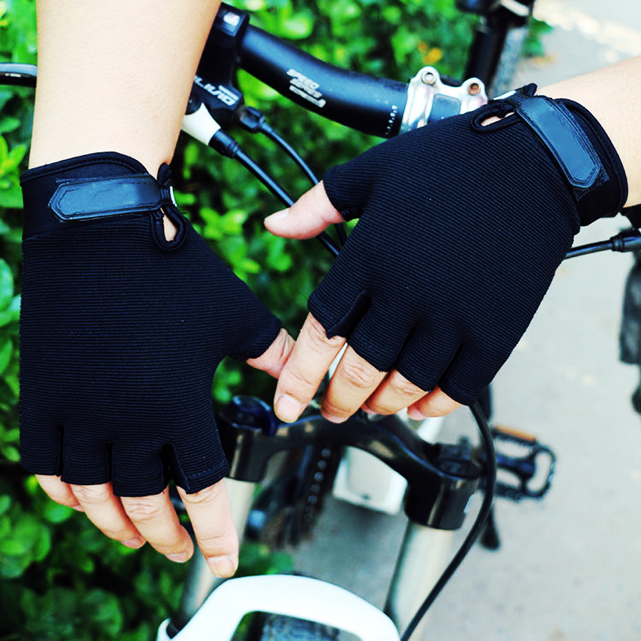 1 Pair Cycling Gloves Tactical Sports Gym Gloves Training Fitness Bodybuilding Workout Wrist Wrap Exercise Glove For Men Women
