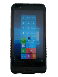 Image 2 - China Rugged Mini PC Tablet Pocket Mobile Computer Windows 10 Tablet 4GB RAM 64GB ROM IP67 Shockproof GPS 2D Barcode Scanner PDA