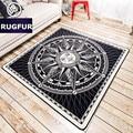 Minimalista de europa y américa marca marea carpet suave esteras salón recibidor dormitorio cama alfombras antideslizantes