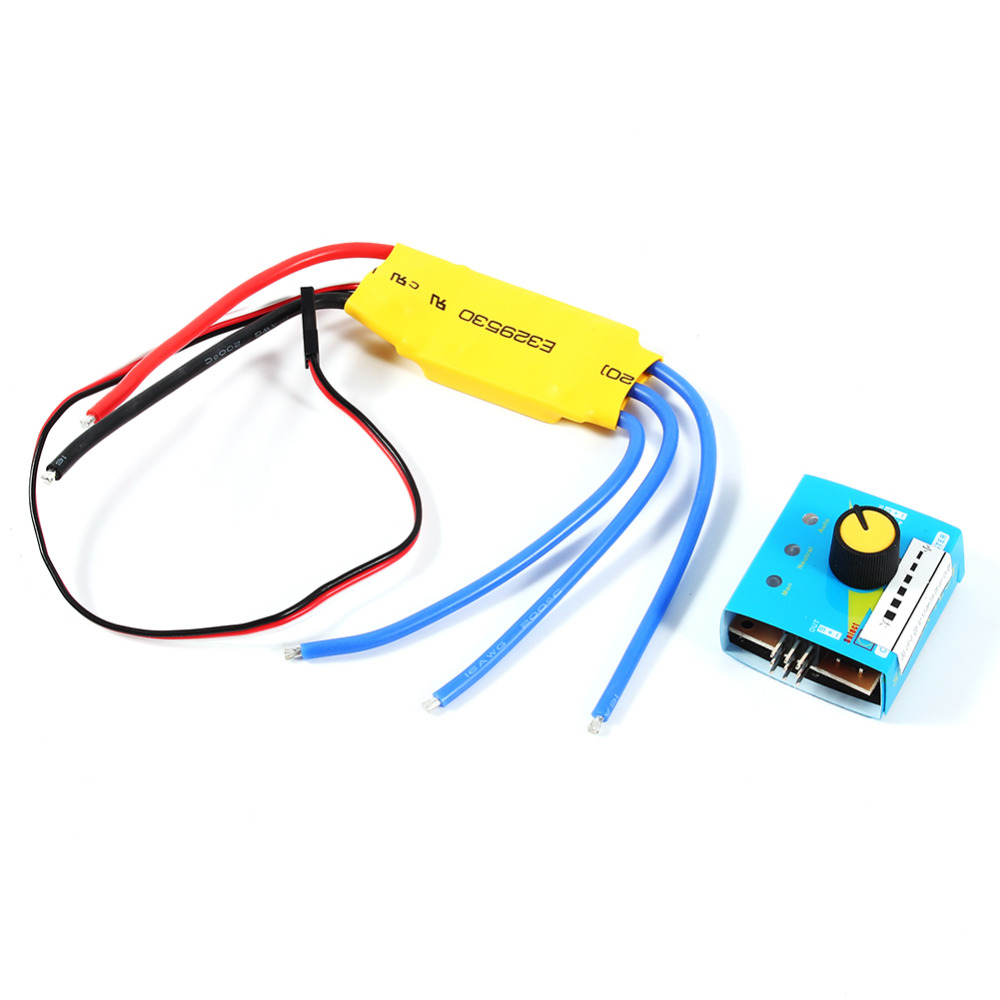 360W 30A High Power 12V DC 3 phase Brushless Motor Speed Control PWM ...