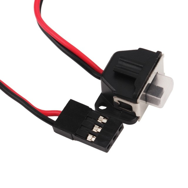 1pcs 100% Original HobbyWing QuicRun 1:10 Brushed 60A QuicRun 1060 60A Electronic Speed Controller ESC 1060 RC Car Waterproof