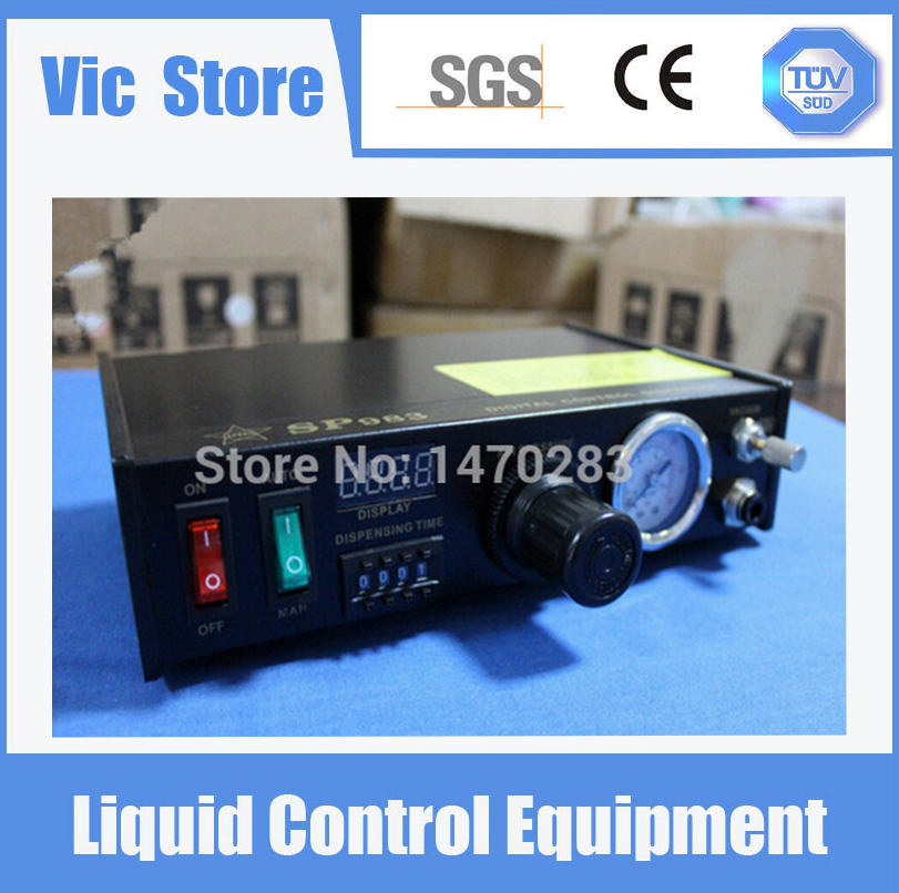 220V Auto Glue Dispenser Solder Paste Liquid Controller Dropper SP983 Dispensing system