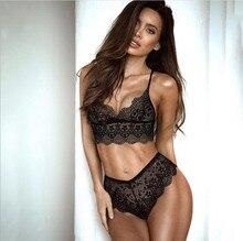 romantic womens sexy lingerie wear suspenders lace underwear set(M033)