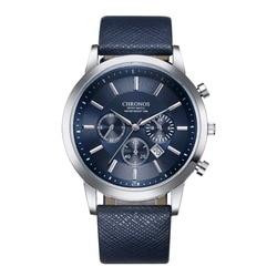 Relogio masculino CHRONOS Assista Men Sport Watch Mens Relógios Top Marca de Luxo Relógio dos homens Relógio reloj erkek kol saati hombre