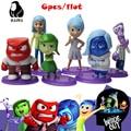 Kit de garaje figura de acción de juguete de dibujos animados película adentro hacia afuera DEL PVC juguete 6 unidades Decoración regalo para los amigos