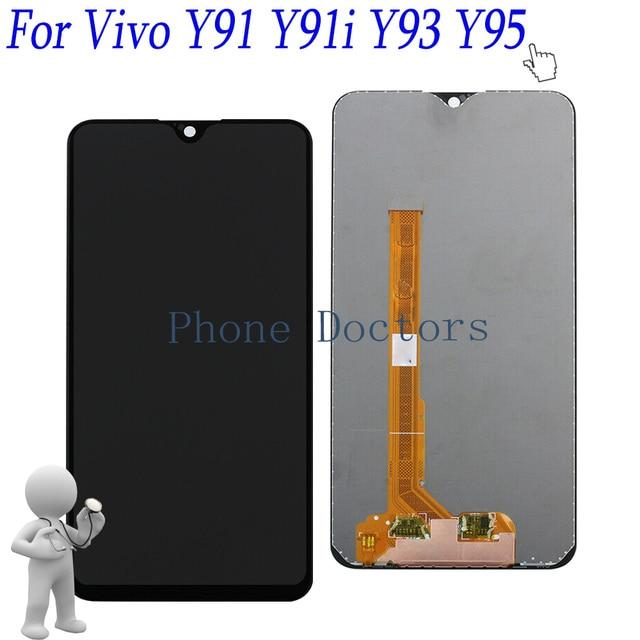 "6.2"" For BBK Vivo Y91 Y91i Y91c 1817 1814  / Full LCD display + Touch screen Digitizer assembly For BBK Vivo Y93 1815/ Y95 1807"