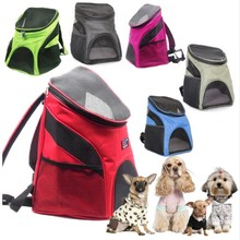CAMMITEVER Portable Pet Dog Cat Puppy Travel Double Shoulder Backpacks Sport Outdoor Carrier Bag