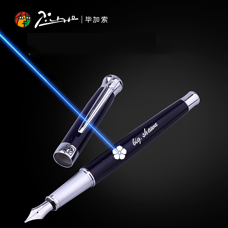 Free logo name custumized fountain pen custom metal 0.5mm nib ink pens business gift with box office school supplies gifts kaigelu extreme series premium fountain pen ink pen business gift pen