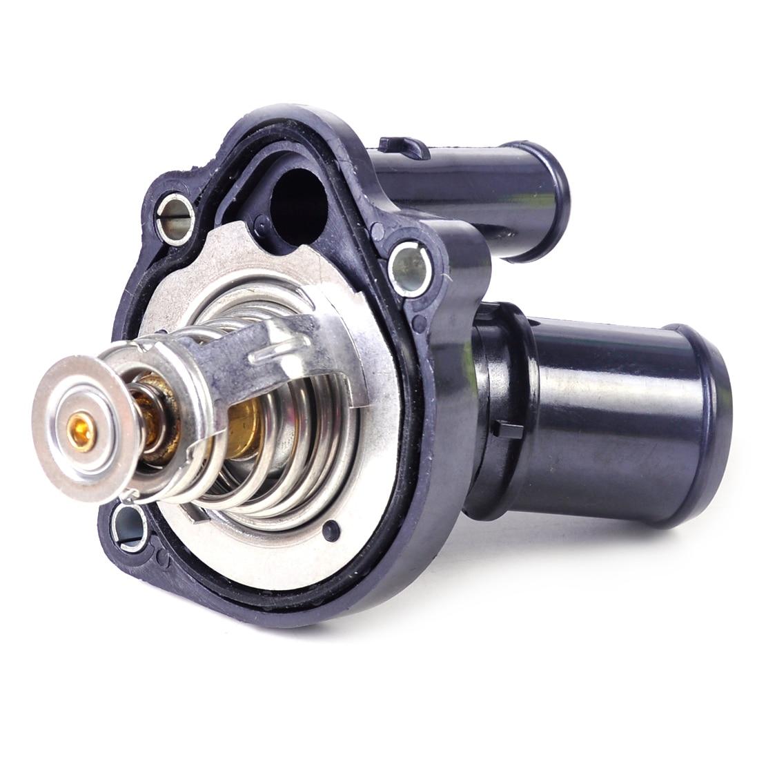 Dwcx thermostat engine coolant housing 48708 lf70 15 170 l33615170 for ford escape focus