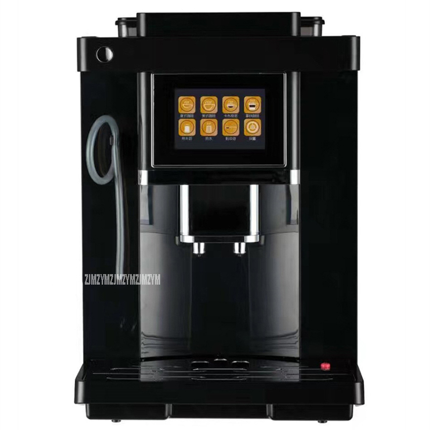 CLT17 1.8L 19Bar Automatic Espresso Coffee Maker Coffee Bean Grinder Milk Bubble Cafe Mocha Cappuccino Italian Coffee Machine