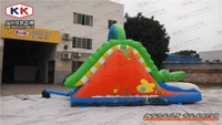 crocodile inflatable slide/ top selling cartoon inflatable slide for kids