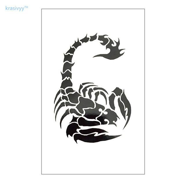 Escorpion Tatuaje aliexpress: comprar tatuaje temporal impermeable pegatina en el