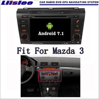 Liislee Android 7.1 2G RAM For Mazda 3 2004~2009 Car Radio Audio Video Multimedia DVD Player WIFI DVR GPS Navi Navigation