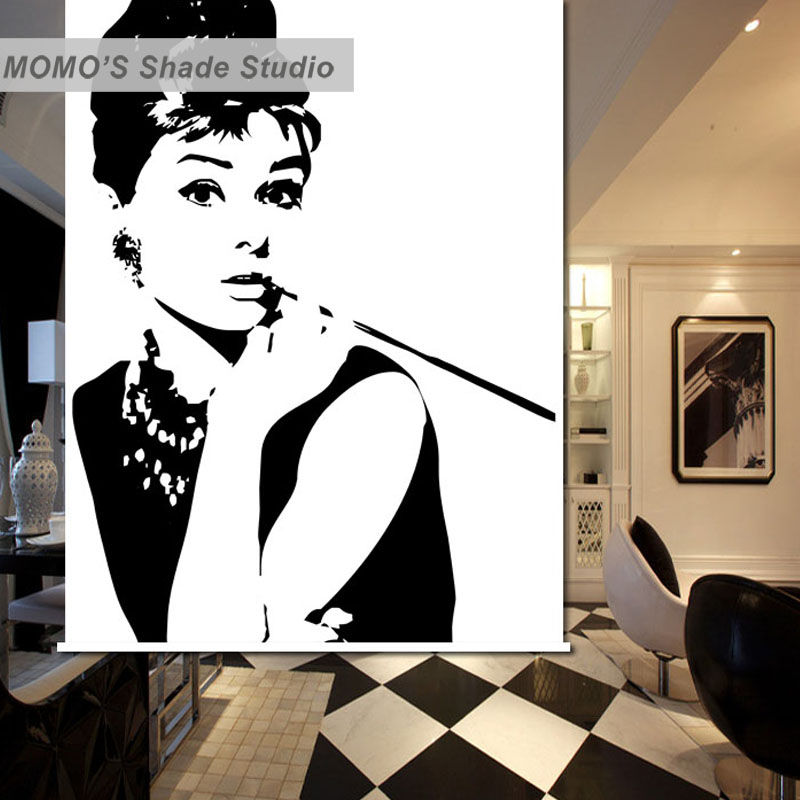 MOMO Hepburn Blackout Window Curtains Roller Shades Blinds Thermal Insulated Fabric Custom Size , Alice 232-239
