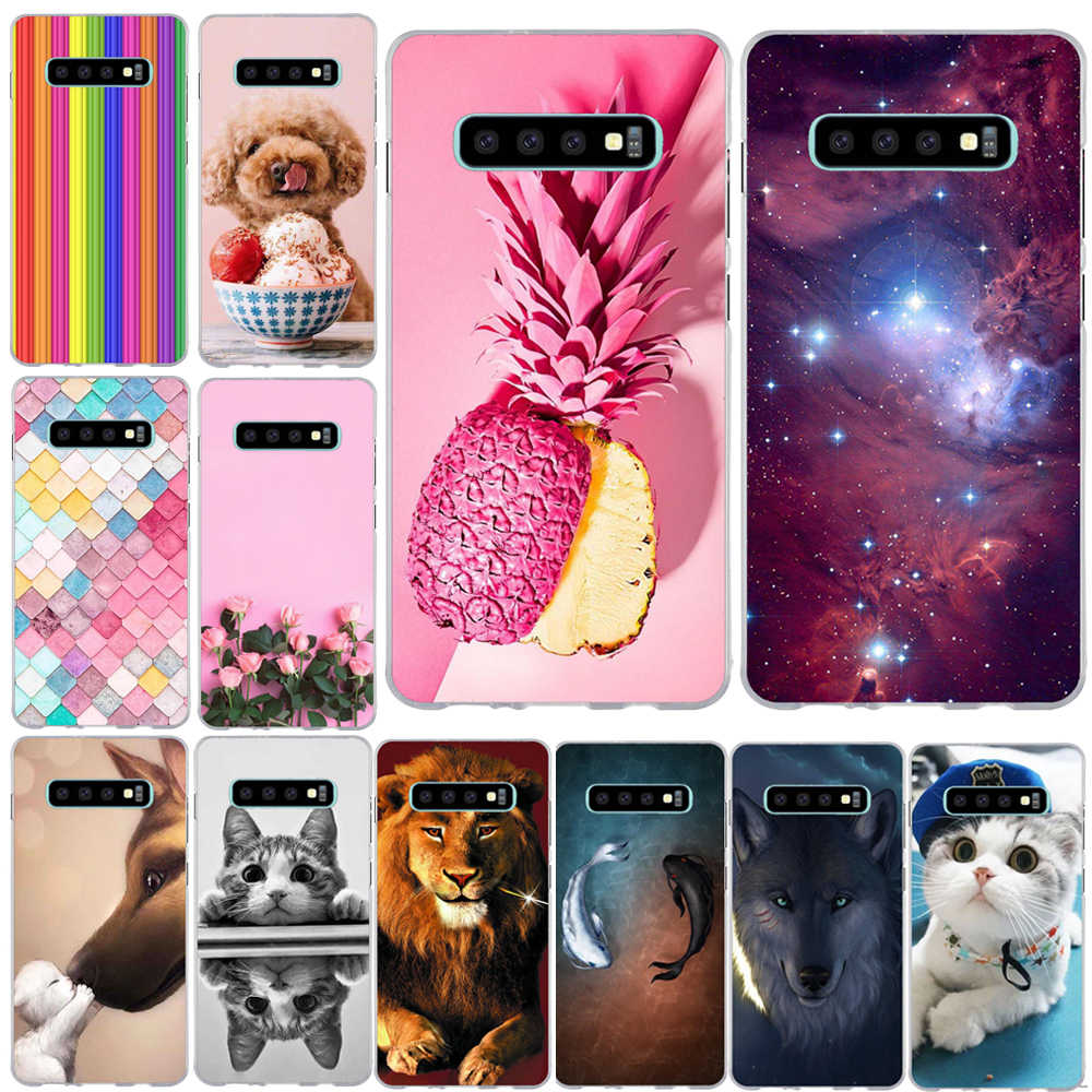 For Samsung Galaxy S10 Plus Case Cover For Samsung S10 Case Silicone Soft Tpu Capa Coque For Samsung Galaxy 10 Lite Phone Case