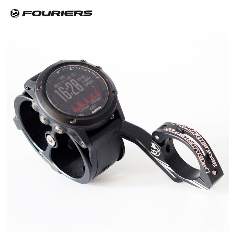 Fouriers uchwyt do montażu na rowerze systemu ogólnych preferencji (GSP), uchwyt do zegarka Garmin Fenix Foretrex Forerunner 10 405CX 410 50 610 920xt 910xt w Kierownice rowerowe od Sport i rozrywka na AliExpress - 11.11_Double 11Singles' Day 1