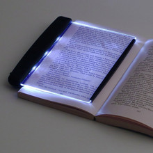 Creative Transparent Battery LED Book Light Student Eye Protection Lamp for College Dormitory Study Night Reading Lamp Gifts все цены