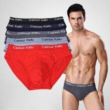 5PCS/Pack Hot Comfy Men Brief Soft Underwear Briefs Shorts Seamless Un