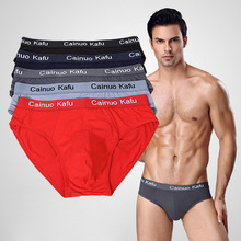 5PCS/Pack Hot Comfy Men Brief Soft Underwear Briefs Shorts S