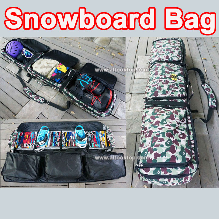 Mooard Snowboard Bag Camouflage Mountain Skiing Waterproof Shoulder Hand Protective Pouch Professional Sport Equipment In Jewelry Packaging Display