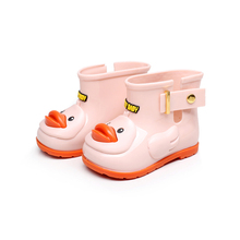 Cute Ducks Rain Boots For Girls Mini Sed Boots Children Rain Boots Baby Girls Kids Water Shoes girls Shoes Baby Boots