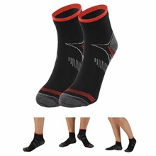 Free Size Women And Men Sports Compression Plantar Fasciitis Heel Arch Pain Relieving Camping Hiking Socks 2017
