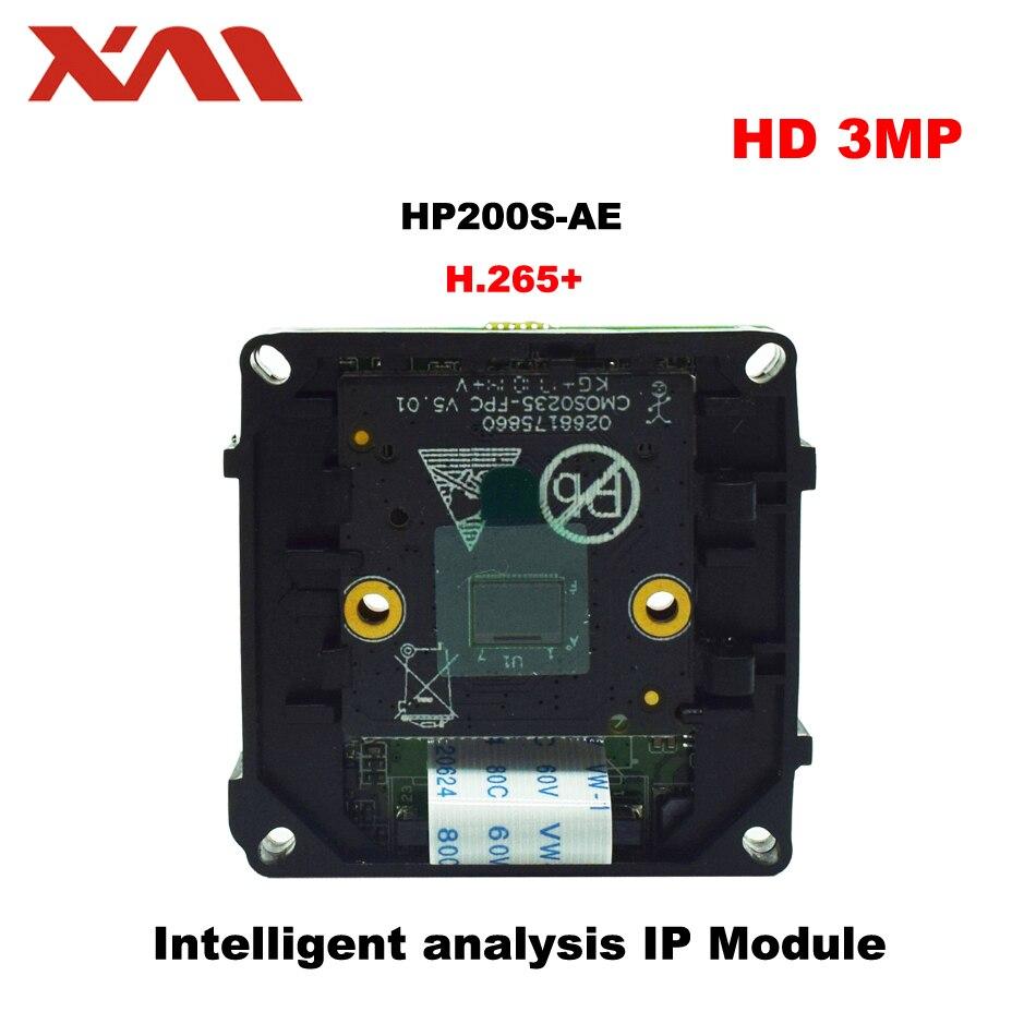 цена на 3.0M H.265+ Intelligent analysis IP Module IPC 1/2.7