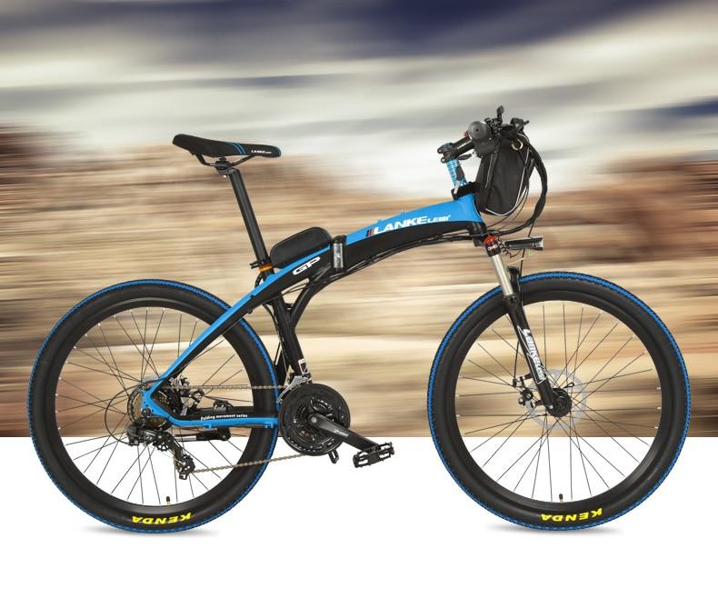 HTB1zKGhQVXXXXcKaXXXq6xXFXXXC - Lankeleisi GP Electrical Bicycle, Folding Bike, 26 inches, 36/48V, 240W, Disc Brake, Quick-folding, Mountain Bike