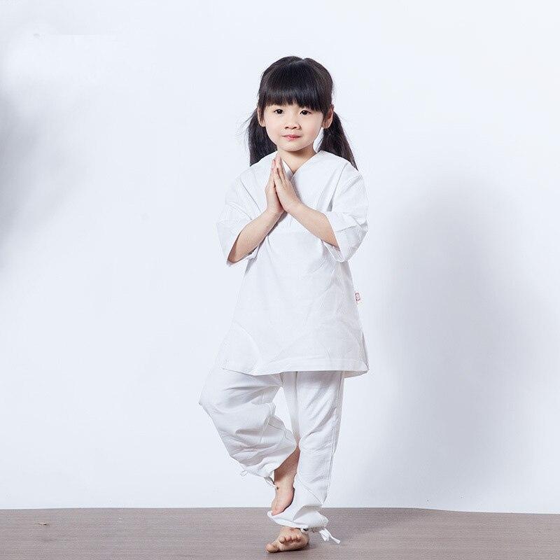 Vêtements pour enfants parents ensemble de Yoga sport course Fitness vêtements d'entraînement pantalons lâches ensemble de hauts vêtements Tai Chi