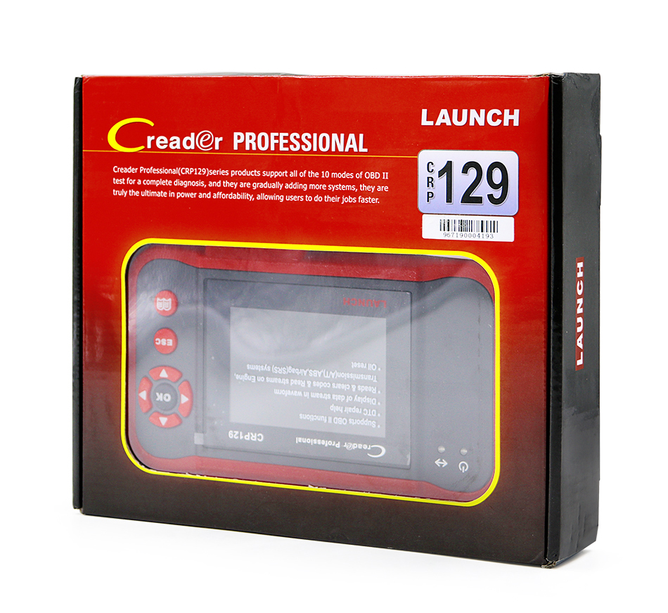 launch creader obd2 code reader scanner Creader CRP129 (2)
