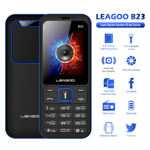 Image 2 - LEAGOO B23 телефон с функцией телефона старшие дети мини телефон клавиатура с русским шрифтом 2G GSM кнопочный Ключ сотовый телефон