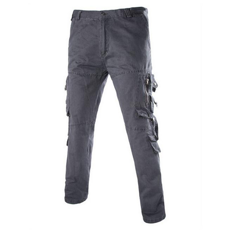 high Quality Spring Mens Cotton Slim Fit Joggers Cargo Overalls Pants Men Tactical Camo Military pantalon