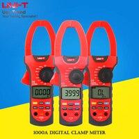 Uni t UT207A/UT208A/UT209A/UT207/UT208/UT209 1000A цифровой клещи; AC/DC 1000A истинный Амперметр RMS