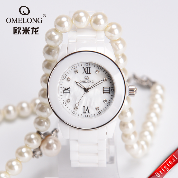 Black Friday 50m Water Resistant Watch White Ceramic Watch