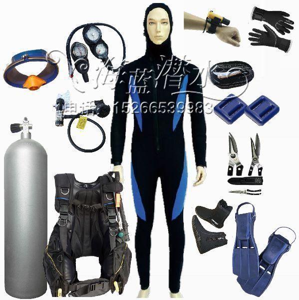 Dive Bottle 12L Aluminum Dive Cylinders 12 Liters A Full Set Of Diving Equipment Combination Packages / Oxygen Bottle Stores